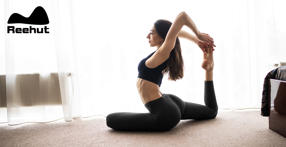 Amazon.com: REEHUT - Leggings para mujer de yoga, cintura ...