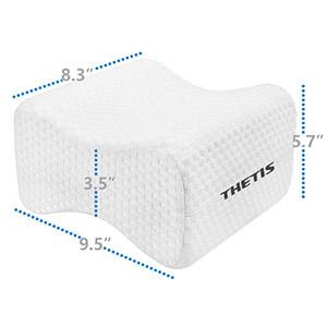 Amazon.com: THETIS Homes - Almohada de espuma viscoelástica ...