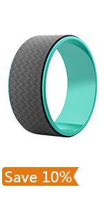 Amazon.com : REEHUT Yoga Block (2 PC) and Metal D Ring Yoga ...