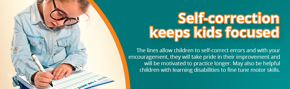 Helpful for any child that needs to improve handwriting skills.
