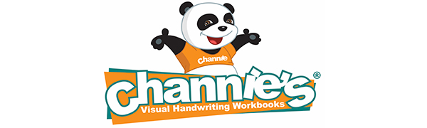 Channies visual handwriting workbooks for children, teachers, and therapy.