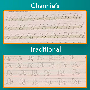 Noticeable improvement in legibility with continued practice.