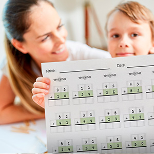 Pre-made and ready to go math sheets for parents, teachers, and tutors
