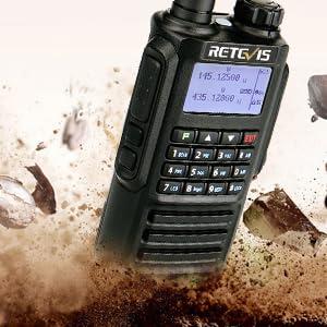 two way radios waterproof
