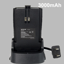 walkie talkie with long life battery