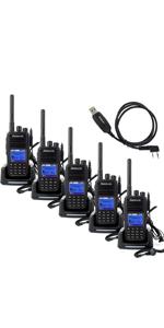 Amazon com: Retevis RT3 Two Way Radio DMR Digital/Analog UHF