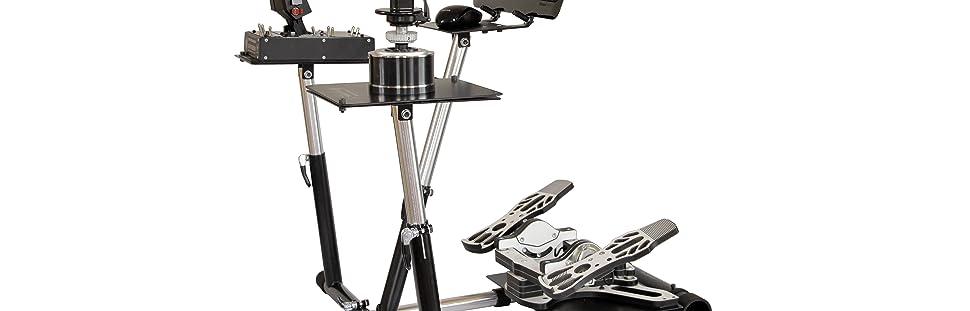 Saitek X52 Pro Wheel Stand Pro for Thrustmaster HOTAS WARTHOG and Saitek X55
