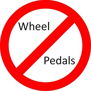 Pedals and wheel