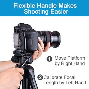 flexible handle camera tripod