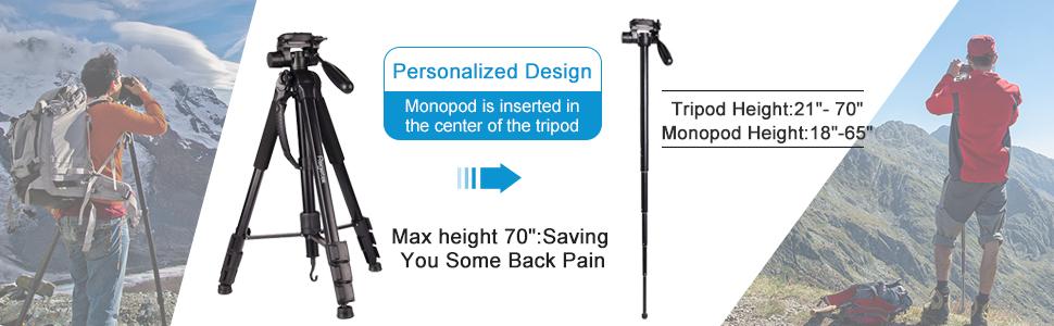 camera tripod monopod