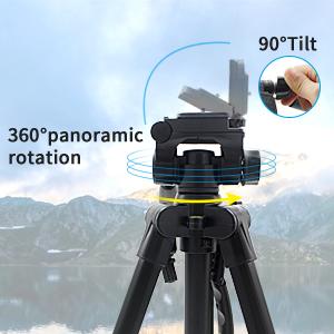 360° Rotation & 90° Tilt