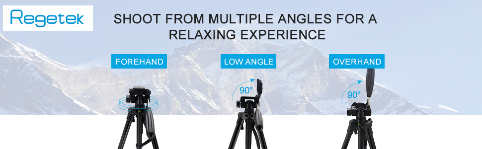 Shoot From Muiltple Angles for A Relaxing Experience