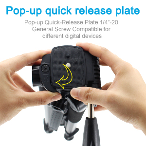 Pop-up Quick Release Plate
