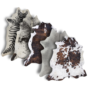 rodeo cowhide rug is 100 natural authentic cow skin