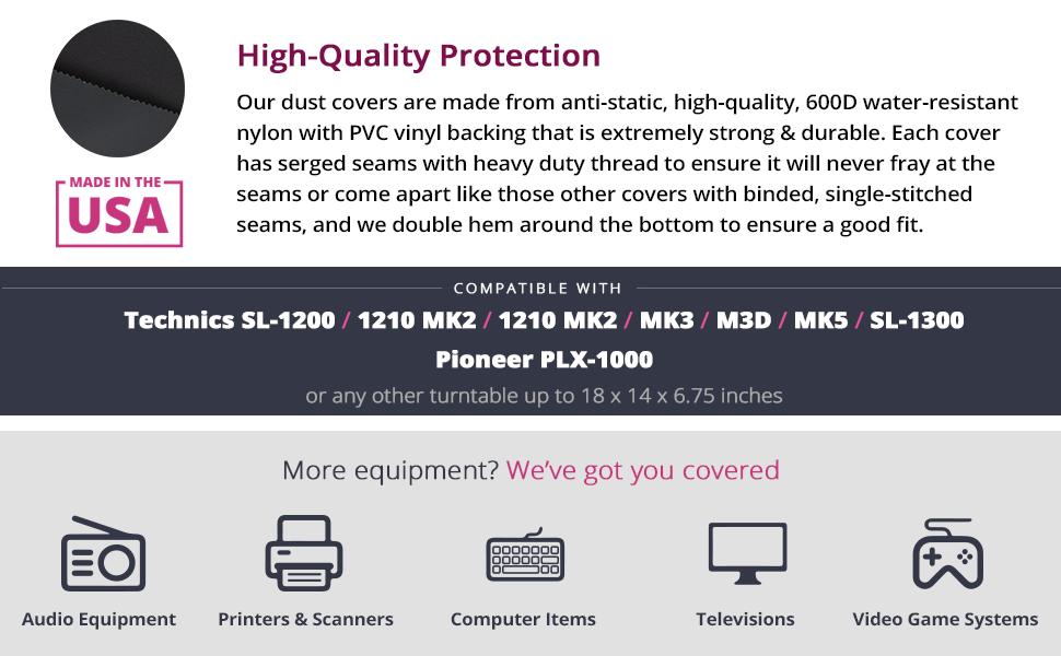 Amazon.com: Technics Turntable Dust Cover For sl-1200/sl ...