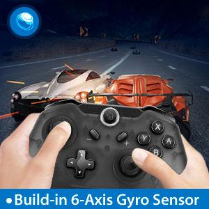 Build-in 6-Axis Gyro Sensor