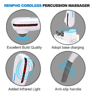 RENPHO DEEP TISSUE PERCUSSION MASSAGER