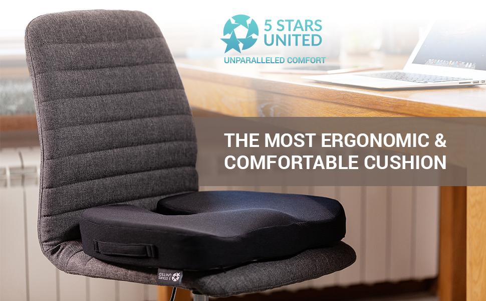 Amazon.com: Cojín de asiento para silla de oficina, 5SU-MFC ...
