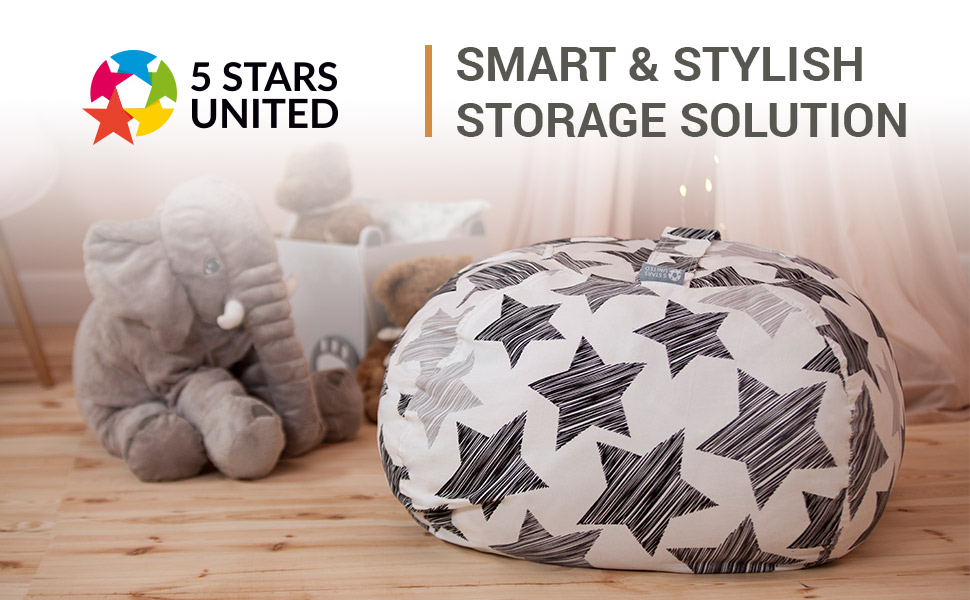 stuffed animal bean bag storage stuff n sit chair pouf toy beanbag stuff animal basket bin