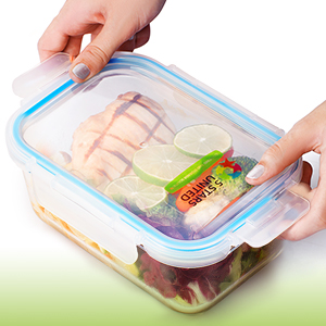 food freshness platic lids glass fre BPA