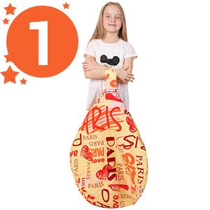 kids toys 5 stars united bean bag