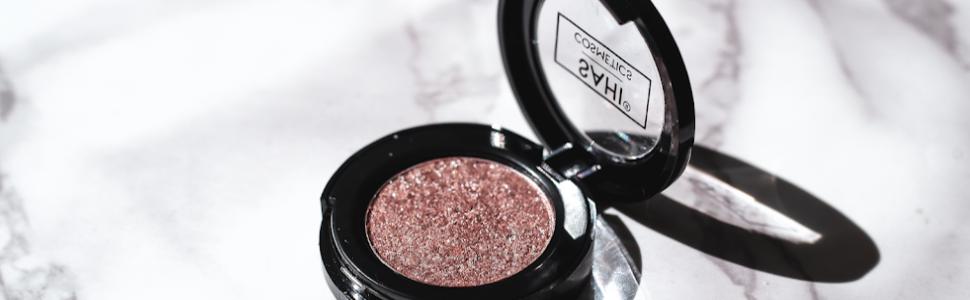 valencia pink shimmer sparkle eyeshadow