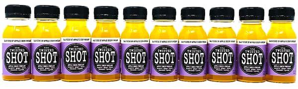 Amazon.com : The Twisted Shot | Organic Apple Cider