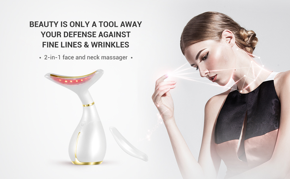 Skin Care Experts Face and Neck Massage Toning Device