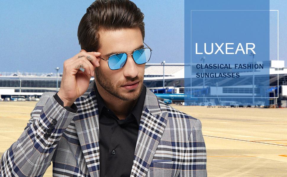 LUXEAR aviator sunglasses
