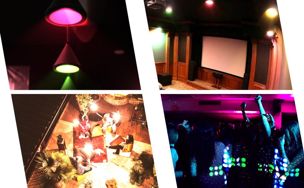 led light bulb changes color, LED Light Bulbs That Change Colors, LED Color Changing Light Bulb