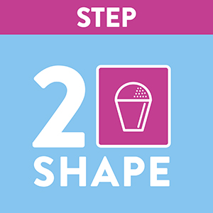 shape ice