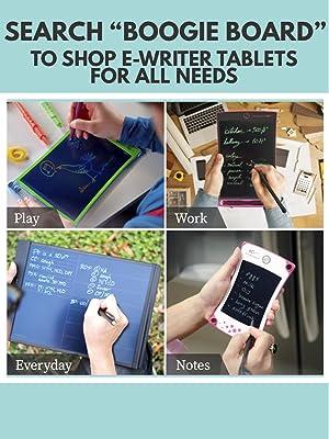 Boogie board jot e-writer 8.5 4.5 sync 9.7 blackboard note tablet stylus pen grocery list shopping