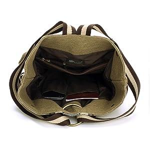 this shoulder bag details inside show