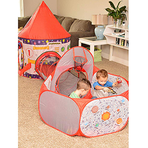 Kids, Play Tent, Tunnel, Ball Pit, Hoop Toys, Boys, Girls, Babies, Toddlers, Educational, Design