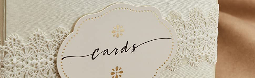 ivory gift card box