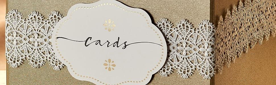 gold gift card box