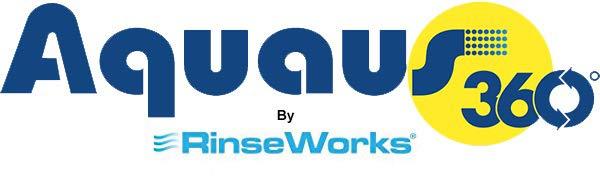 Rinseworks hand bidet for faucet logo