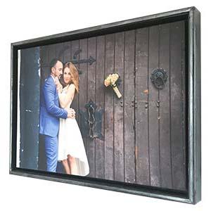 Your photo here custom canvas wall art startonight personalization family kids holiday photo wedding
