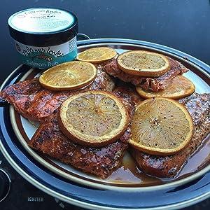 salmon rub with love container smoked grill bbq salmon wild caught spices ettas salmon recipe