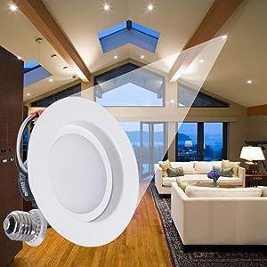 Sunco Lighting 11W 4-inch ENERGY STAR UL-listed Dimmable