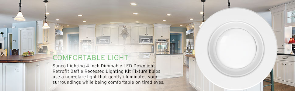 4 inch recessed lighting 5 6 white led recessed retrofit surface mount light style 11w6 bright light sunco lighting pack 11watt 4