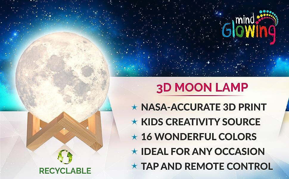 Mind-glowing Moon Lamp 1