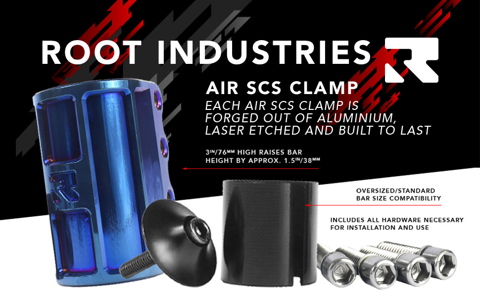 NEW Root Industries AIR SCS Pro Scooter Compression Clamp For Freestyle Scooter