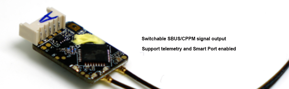 FrSky R-XSR// RXSR SBUS//CPPM Switchable D16 16CH Receiver RX for RC Transmitter