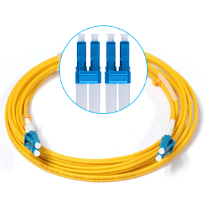 NEW AFL 3m LC-SC Duplex 9//125 Singlemode Fiber Cable Yellow Optic 10FT