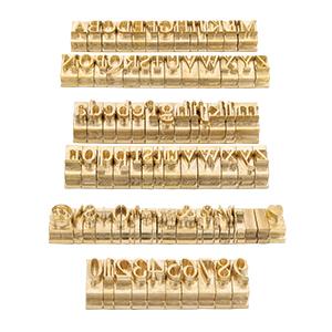 letter brass set