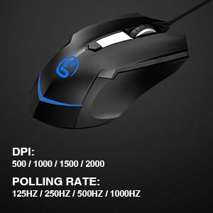 Adjustable DPI mouse