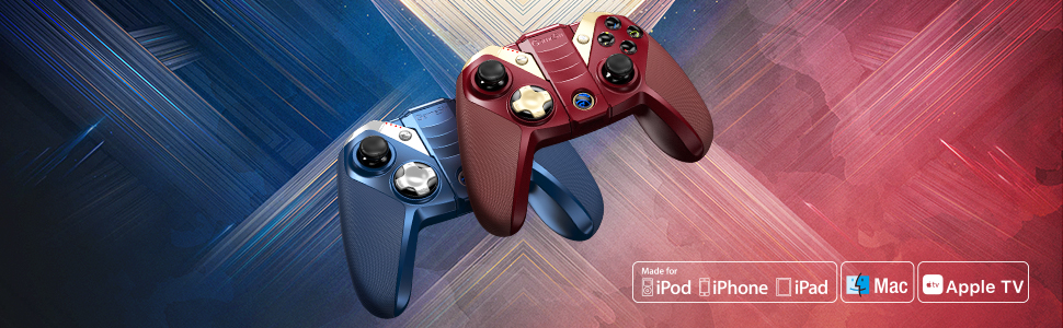 M2 MFi Wireless Gamepad iOS Gaming Controller
