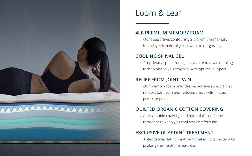 Loom & Leaf, loom and leaf, mattress, saatva, saatva company, memory foam