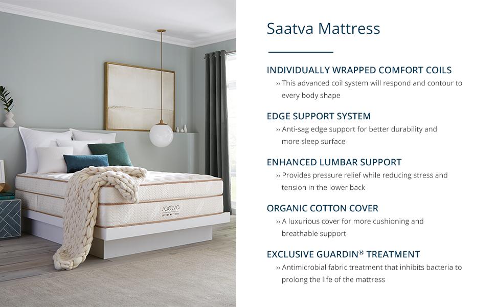 saatva mattress, saatva, the saatva company, mattress